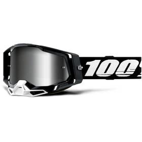 100% Racecraft Anti-Fog Goggles Gen2 black/mirror